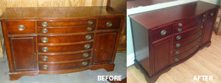 Furniture Repair - Server Repair
