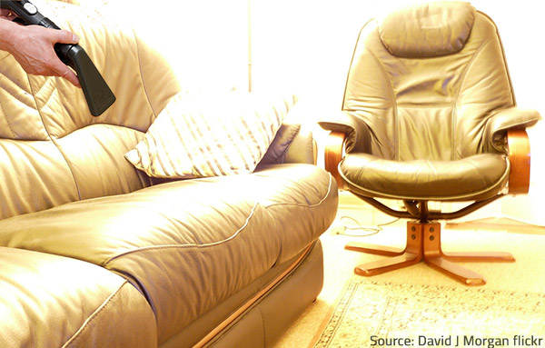 Vacuuming your leather furniture regularly will prevent the accumulation of dirt and dust.