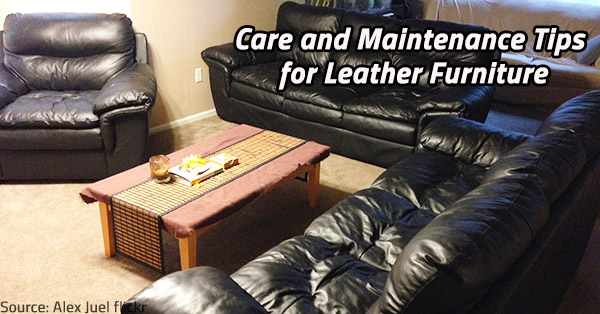 Maintain properly your leather furniture to preserve its charm.