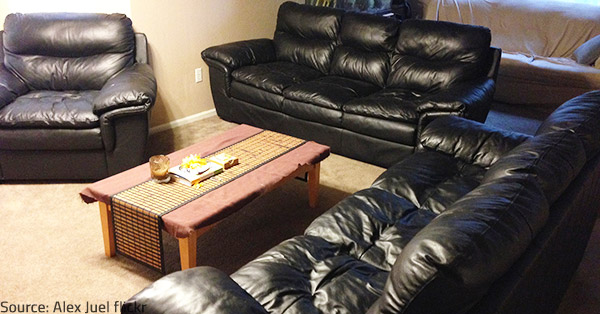 Leather furniture can last for many years when properly taken care of.