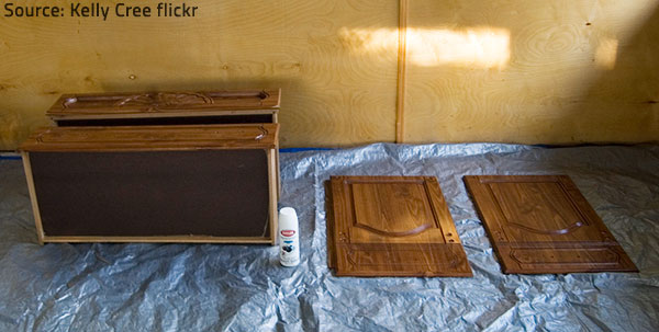 DIY refinishing projects require much time and elbow grease.
