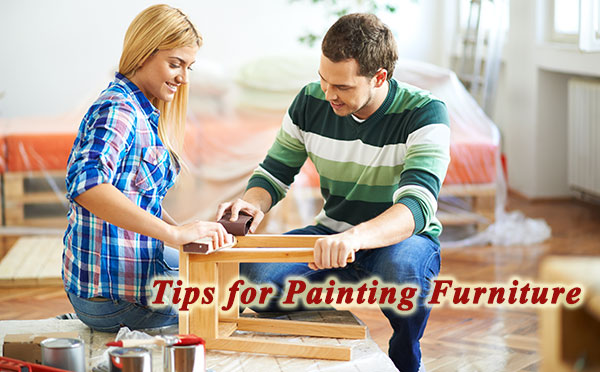 How to paint furniture yourself.