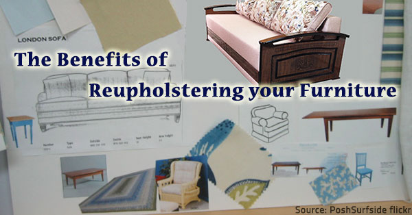 Furniture reupholstery.