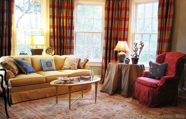 Upholstered furniture adds great charm to your home decor.