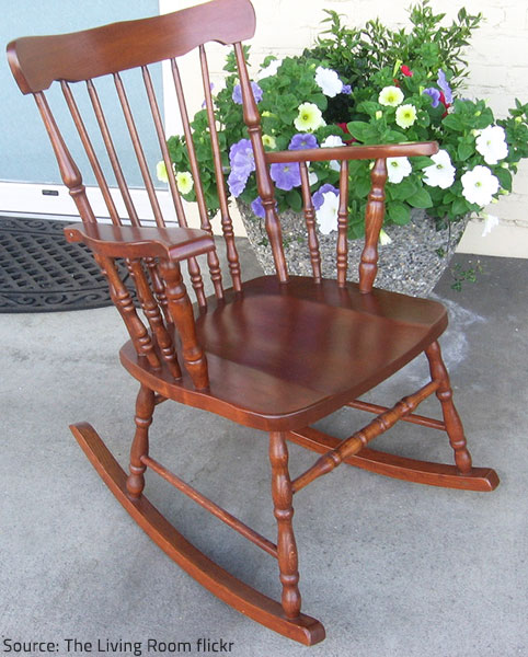 Restored furniture, as well as refinished furniture, are in excellent condition.