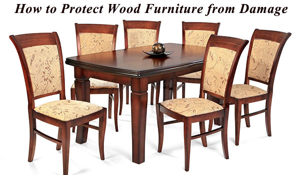 The best way to protect wood furniture.