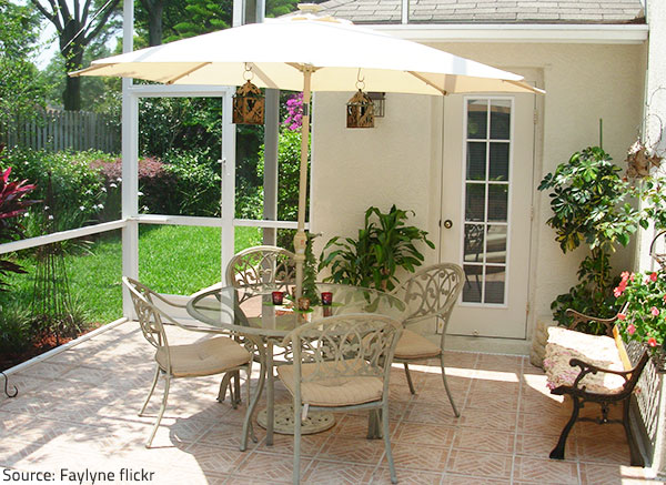 Make sure your outdoor furniture is ready for spring.