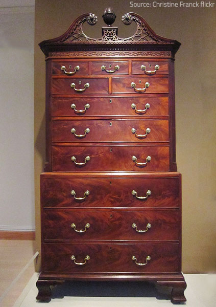 Mahogany is considered the most valuable hardoowd furniture.