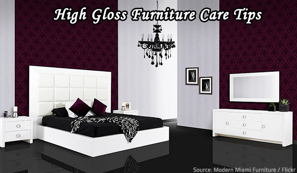 Proper high gloss furniture care will allow you to preserve the beauty of your lacquer pieces for generations.