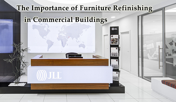 Commercial furniture refinishing has many important benefits.