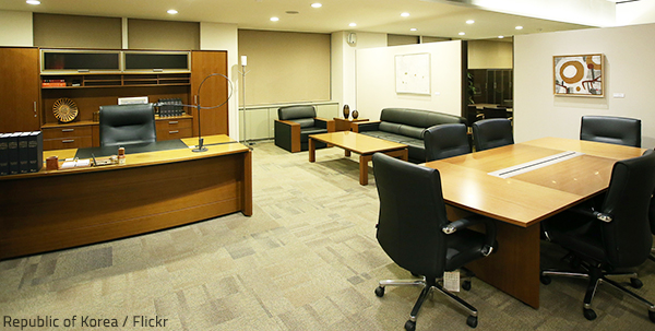Commercial furniture defines the style and fucntionality of a commercial space.