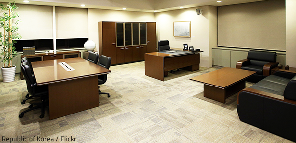 Commercial furniture refinishing is your most economical option for revamping your commercial space.
