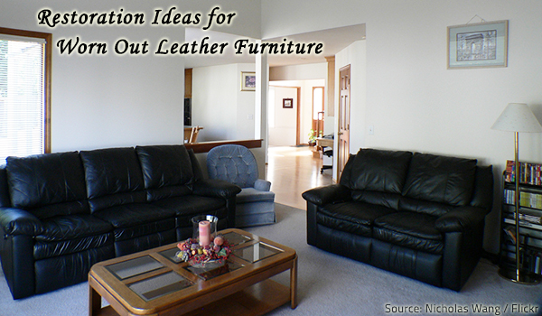 Leather furniture restoration ideas.