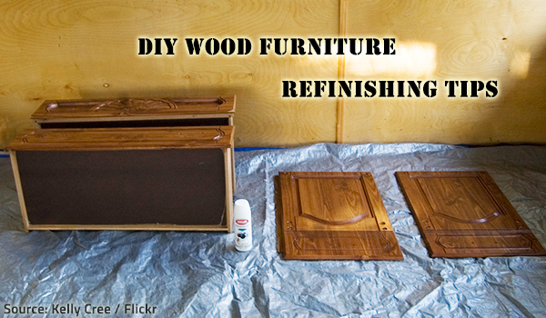 DIY Wood Furniture Refinishing Tips