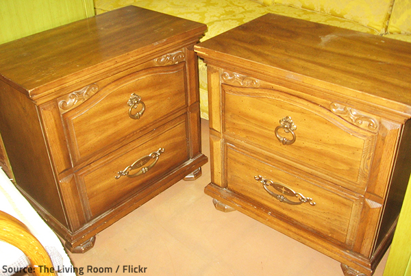 You can restore the beauty and serviceability of wood furniture by refinishing it.