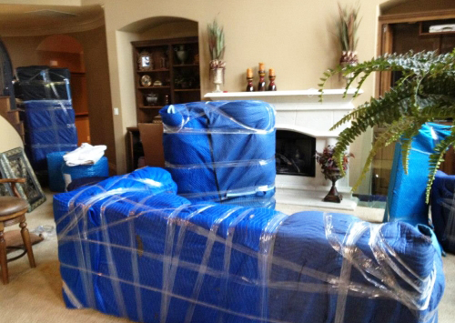 To keep your furniture protected when moving you need to pack it properly.