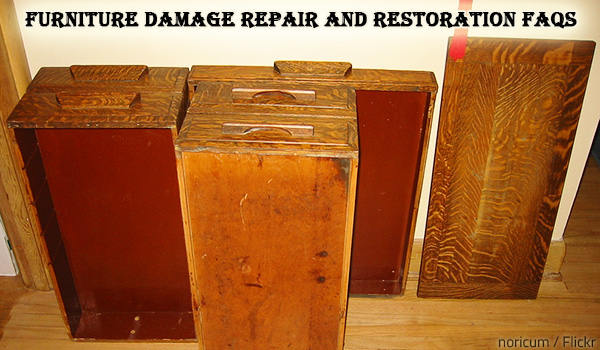 Common furniture repair and restoration questions.