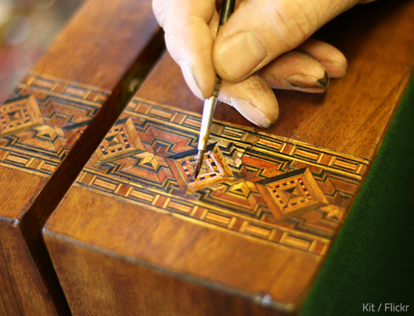 Quality furniture restoration requires a lot of time and effort.