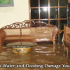 Find out how to save water damaged furniture.