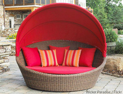 Regular cleaning will keep your patio furniture in great condition at all times.