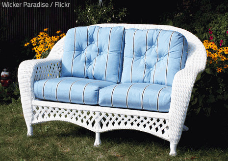 Warm, sunny autumn days are perfect for washing outdoor cushions.