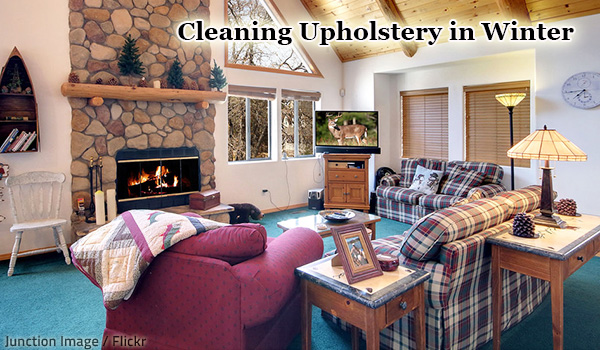 Winter is the perfect time for professional upholstery cleaning.